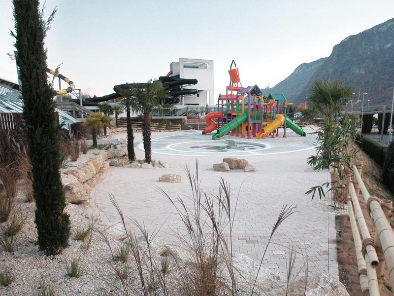Extension aménagements extérieurs Aquaparc | Le Bouveret