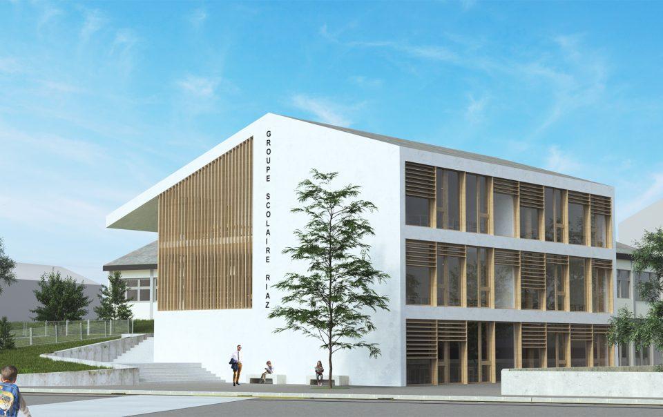 Concours extension école | Riaz