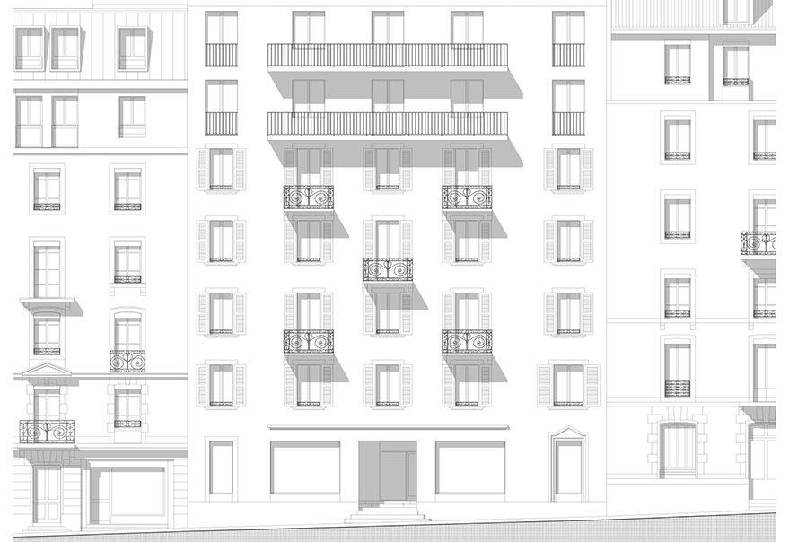 Concours surélévation et extension immeuble | Genève
